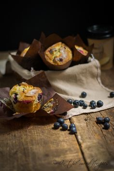 Muffin ai mirtilli- Blueberry muffin