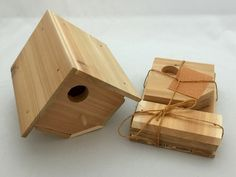 Cedar Wren Birdhouse Kit. Perfect for scouts or Child's