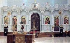 Мраморный иконостас в соборе Георгия Победоносца