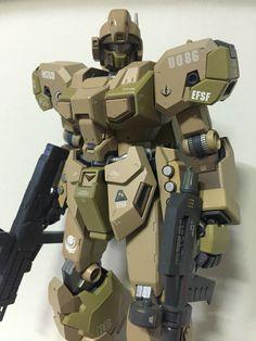 [MG] RGM-96X Jesta ver. Desert camouflage