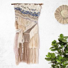 By The Seashore Woven Wall Hanging Tapestry Weaving