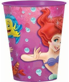 Partytoyz Inc. - Little Mermaid Pink Plastic 16 oz Reusable Keepsake Souvenir Favor Cup (1 Cup), $0.99 (http://www.partytoyz.com/little-mermaid-pink-plastic-16-oz-reusable-keepsake-souvenir-favor-cup-1-cup/)
