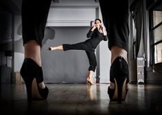 Using High Heels for Self-Defense