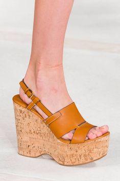 Chaussures Ralph Lauren printemps-été 2016 - Les plus beaux accessoires du  printemps-été 2016 repérés sur les podiums - Elle 58ec2790b44