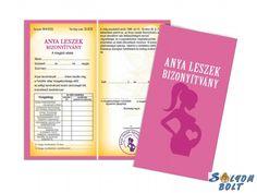 Vicces bizonyítvány, Anya leszek Cover, Books, Products, Libros, Book, Book Illustrations, Gadget, Libri