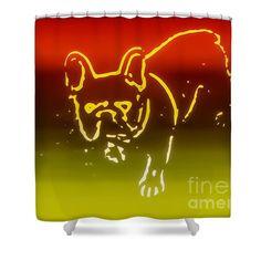 Bathroom Accessories Etsy designer shower curtain, dog bathroom curtain, bathroom decor