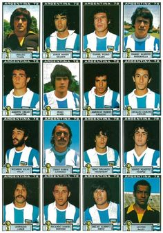 Argentina team 1978 World Cup Finals. Argentina Team, Argentina Football, 1982 World Cup, Fifa World Cup, Association Football, Argentine, International Football, World Cup Final, Old Glory