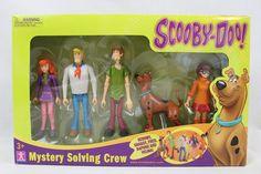 Scooby Doo 5 Pack Action Figures Mystery Mates Solving Crew Velma Shaggy Fred #HannaBarbera #Custom