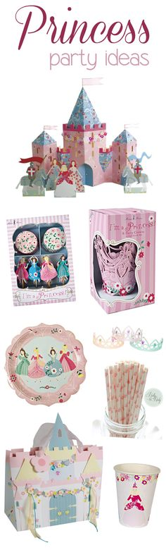 Princess Party Ideas - Pretty My Party #princess #birthday #party #ideas