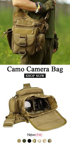 Waterproof Nylon Camera Bag Outdoor Multi-functional Crossbody Bag Tactical Package For Men is hot-sale, many other cheap crossbody bags on sale for men are provided on NewChic. Photography Bags, Nikon Photography, Kayak Accessories, Cheap Crossbody Bags, Photo Bag, Bag Sale, Fashion Handbags, Shopping Bag, Mens Fashion