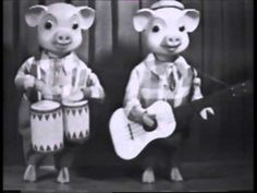 Pinky and Perky (On Crackerjack) early 60's