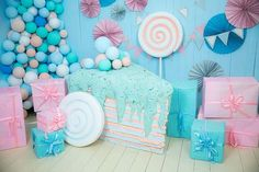 Decor party birthday candy land 67 ideas for 2019 Birthday Candy, Baby Birthday, 1st Birthday Parties, Candyland, Candy Land Theme, Ice Cream Party, Candy Party, Candy Shop, Birthday Decorations