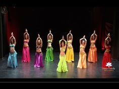 Drum Solo Belly Dance - Fleur Estelle Dance Company - YouTube