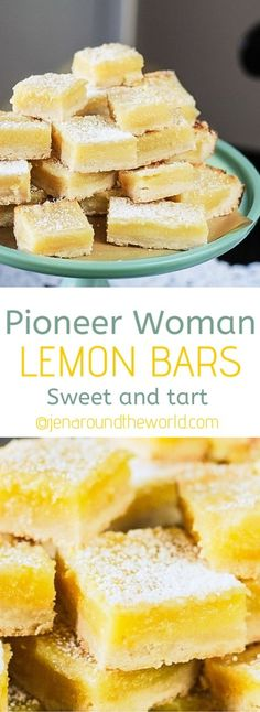 These are the best Pioneer Woman Lemon Bars. They are so full of lemony tart flavor with a sweet shortbread crust. recipes ever pioneer woman Pioneer Woman Lemon Bars Small Desserts, Lemon Desserts, Great Desserts, Lemon Recipes, Köstliche Desserts, Sweet Recipes, Orange Recipes, Dessert Simple, Lemon Bars Pioneer Woman
