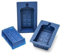 Doctor Who Tardis Silicone