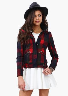 Boon Plaid Jacket   Shop for Boon Plaid Jacket Online