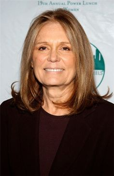 """Gloria Steinem. For her courage, outspokenness, intelligence, and style.  Favorite quote:  """"The truth will set you free.  But first it will piss you off."""""""