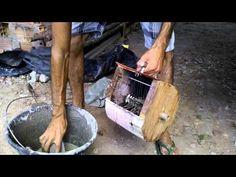 Chapiscadeira manual CASEIRA - YouTube