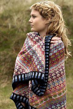 Ravelry: Mongolia shawl pattern by Christel Seyfarth