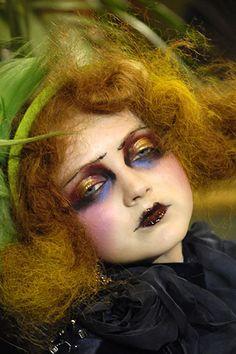 64 trendige mode redaktionelle make-up avantgarde pat mcgrath - Gala face - Retro Makeup Art, Beauty Makeup, Eye Makeup, Hair Makeup, Doll Makeup, Makeup Style, Lily Cole, Make Up Looks, Makeup Black
