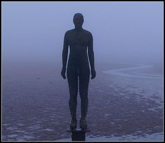Iron Man though the fog :)