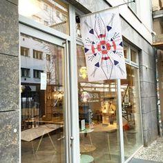 Clara Stil in der Rosa-Luxemburg-Straße, Berlin Mitte