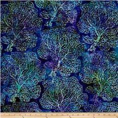 Kaufman Artisan Batiks Tiger Fish Reef Ocean
