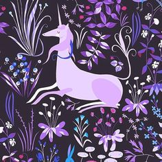 Andover Fabrics's The Lovely Hunt by Lizzy House, 7978-GY - gather here online - 6