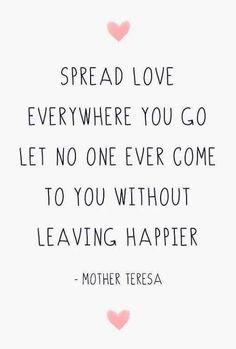 Spread Love #inspiration