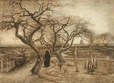 Winter Garden Vincent Van Gogh Reproduction | 1st Art Gallery