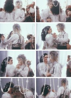 Labyrinth ballroom scene rehearsal