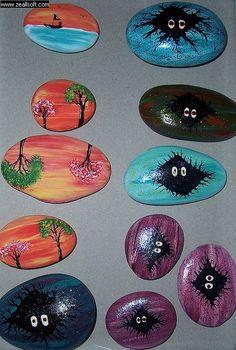 painted rock, stone, piedras pintadas