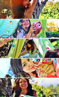 Bethany :) best songs in this video. East of Eden from zella day and shower from becky g. Listen to them and then watch her video.