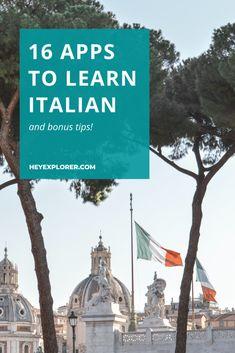16 Best Apps to Learn Italian & Bonus Tips [2021]