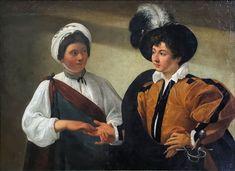Caravaggio - La buenaventura - 1595 (segunda versión, Museo del Louvre)