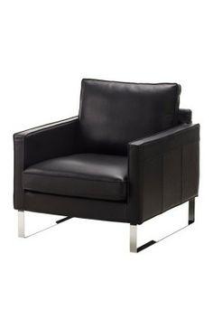 Ikea karlsfors canap 2 places m ridienne capitonn grann noir r f s79906 - Fauteuil meridienne ikea ...