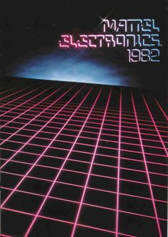 Mattel Electronics catalog cover 1982..... Handheld Tomytronic Tron.