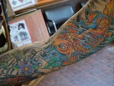 Fish arm tattoo has historically been very popular among many men and women, and the fish tattoo designs are seen with great respect and have heart touching. http://tattootats.com/fish-arm-tattoo/