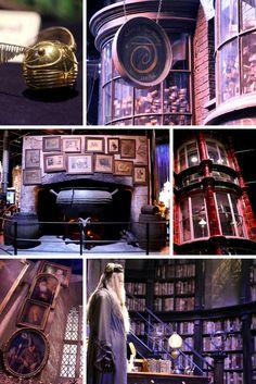 Au Warner Bros Studio Tour de Londres, vous pouvez voir les vrais décors des films d'Harry Potter ! Cliquez sur le lien pour lire mon compte-rendu.