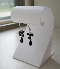 A couple of months ago, I decided to start making my own jewelry displays out of card stock. I was getting ready for my first show, and I didn't want to spend a lot of money on displays since I didn't know if it would be successful or not. I couldn't find a design for an earring display that I…