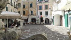 Piazzetta Umberto I (snmall square) - Atrani, Italy