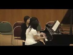 """Qui Vive Performed by Makiko & Naomi for """"Sound of Another Heartbeat"""" Concert in Richmond, BC Piano Teaching, In A Heartbeat, Theory, Students, Canada, Teacher, Play, Learning, Concert"""