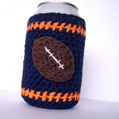 "No, I wouldn't look silly at all passing these out at our football parties. ""Boys, here's a little sweater for your beer!"""