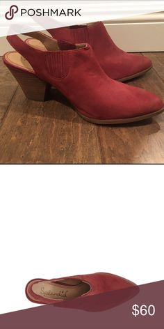 Splendid Averie bootie Worn once . Great condition. Burgundy color Splendid Shoes Ankle Boots & Booties