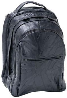 c11156f63c B&F System LUCMBP Embassy 18 Italian Stone Design Genuine Leather Laptop  Backpack. Backpack BagsBuy ...