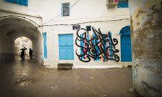 Street art from el-seed