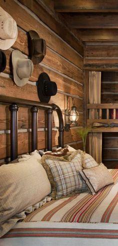 Rustic Bedroom Locati Architects