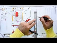Fast Sketch - How to Draw a One-Point Perspective From the Existing Plan - YouTube