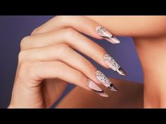 Nail art design with Royal Gels Royal Gel, Spring Summer Trends, Video Tutorials, Color Trends, Nail Art Designs, Engagement Rings, Colors, Jewelry, Jewellery Making