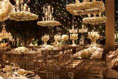 Decoração de casamento: branco + transparência - Constance Zahn   Casamentos